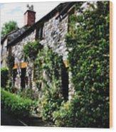 Old Terrace Houses - Peak District - England Wood Print