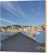 Old Village Sestri Levante Wood Print