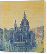 Old Warsaw  Wood Print