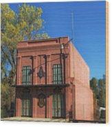 Oldest Masonic Lodge In California Wood Print