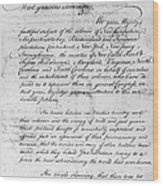 Olive Branch Petition, 1775 Wood Print
