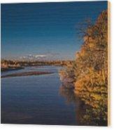 On The Rio Grande Wood Print