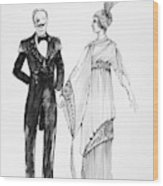 Operetta Costumes Wood Print