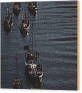 Oporto By River Wood Print