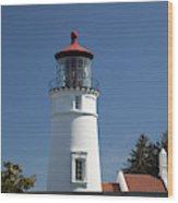 Or, Umpqua River Lighthouse Wood Print