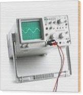 Oscilloscope Wood Print