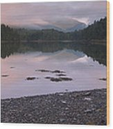 Otter Creek Dawn Reflections Wood Print
