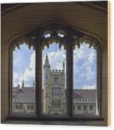 Oxford Wood Print