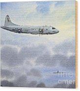 P-3 Orion Wood Print