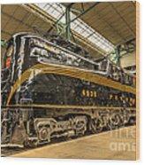 Pa Diesel Electric 4935 Wood Print