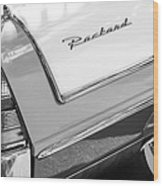 Packard Taillight Wood Print