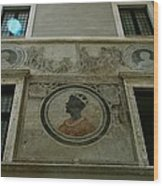 Painted Wall Wood Print