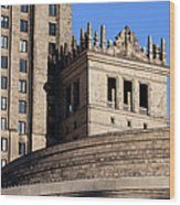 Palace Of Culture And Science In Warsaw Wood Print by Artur Bogacki