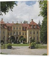 Palace Rammenau - Germany Wood Print