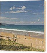 Palm Beach Sydney Wood Print