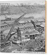 Panama Canal, 1910s Wood Print