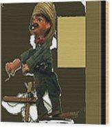 Pancho Villa Puppet Wood Print