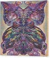 Papalotl Series 3 Wood Print