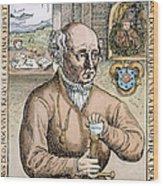 Paracelsus (1493-1541) Wood Print
