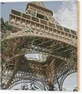 Paris: Eiffel Tower Wood Print
