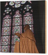 Paris France - Notre Dame De Paris - 011312 Wood Print by DC Photographer