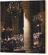 Paris France - Notre Dame De Paris - 01136 Wood Print