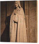 Paris France - Notre Dame De Paris - 01139 Wood Print