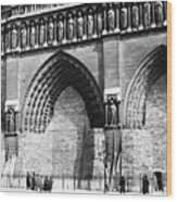 Paris Notre Dame, 1918 Wood Print
