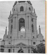 Pasadena City Hall, Pasadena California Wood Print