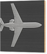 Passenger Airplane. Wood Print