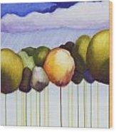 Passionate Twilight Viii Wood Print
