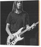 Guitarist Pat Travers Wood Print