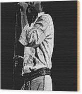 Paul Singing In Spokane 1977 Wood Print