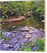 Peace And Tranquility Wood Print