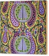 Peacocks Wood Print