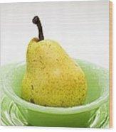 Pear Still Life Wood Print by Edward Fielding