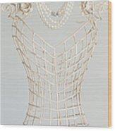 Pearls Wood Print