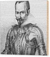 Pedro De Alvarado (1495?-1541) Wood Print