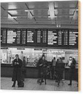 Penn Station Wood Print