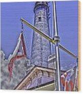 Pensacola Lighthouse Wood Print