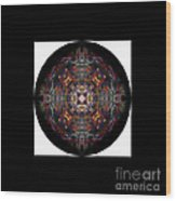 Personal Mandala Wood Print