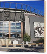 Philadelphia Eagles - Lincoln Financial Field Wood Print by Frank Romeo