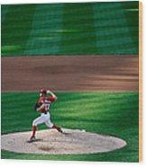 Philadelphia Phillies V Washington 1 Wood Print