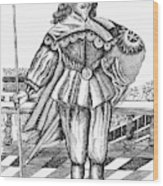 Philip Herbert, Fourth Earl Wood Print