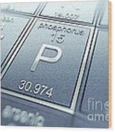 Phosphorus Chemical Element Wood Print