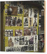 Photos Mexican Revolution Street Photographer's Shed Nogales Sonora Mexico 2003 Wood Print