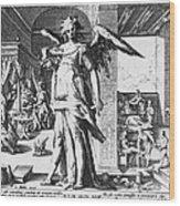 Physician As Angel Wood Print