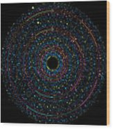 Pi Phi And E Transition Bubble Heaps Wood Print