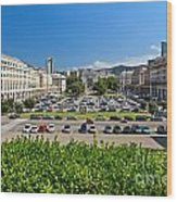 Piazza Della Vittoria - Genova Wood Print