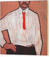 Picasso's Pedro Manach Wood Print